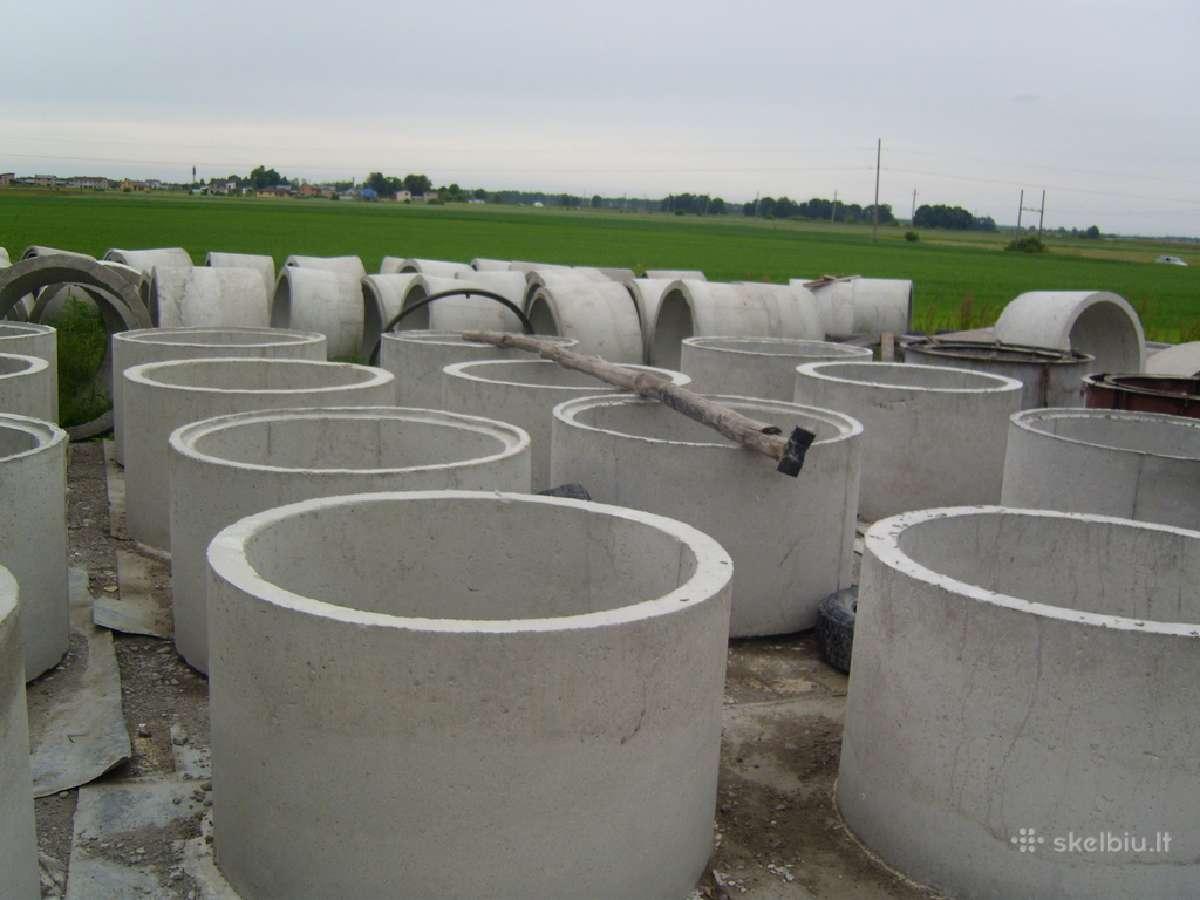 Šulinio,kanalizacijos,vandens nuotėkų žiedai