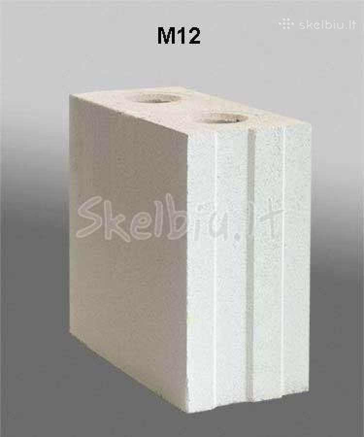 Silikatiniai blokai Siliblokas. Nuolaidos