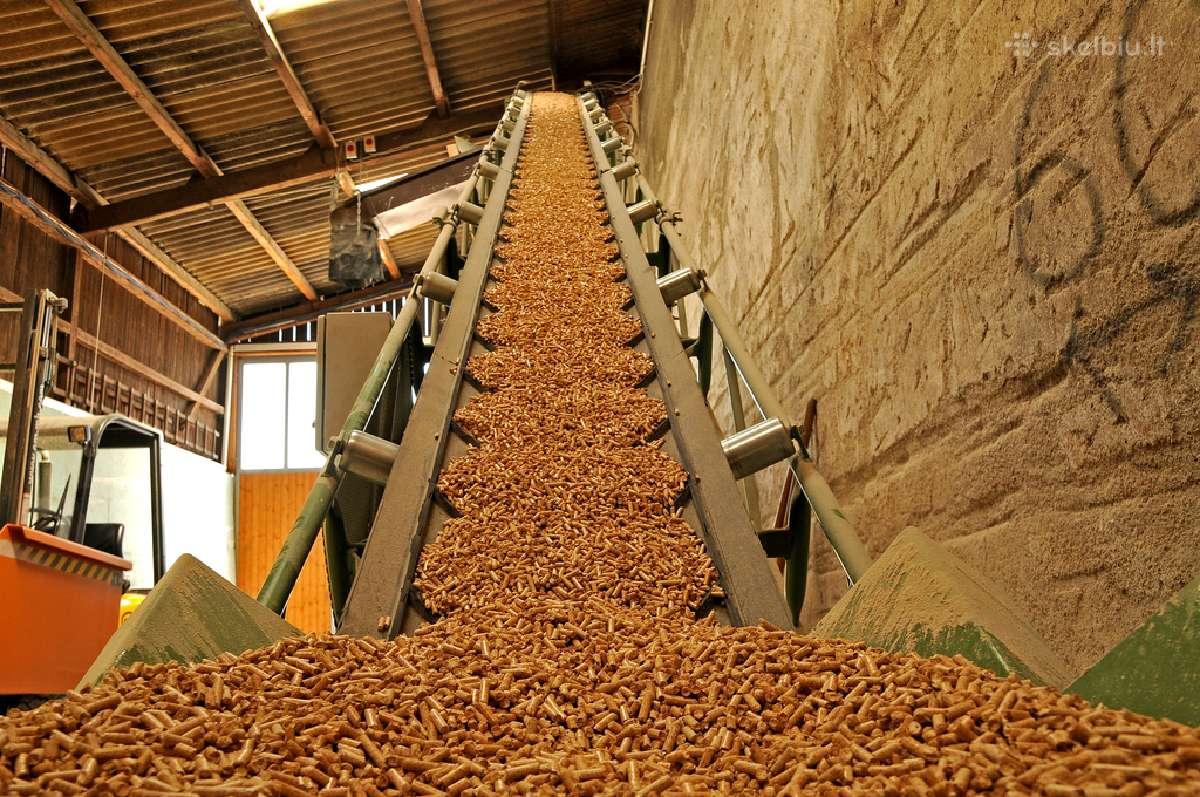 Medžio granulės tiesiai iš gamintojo
