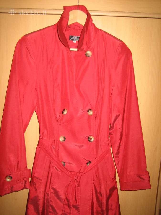 Kokybiškas moteriškas paltas 36 d.