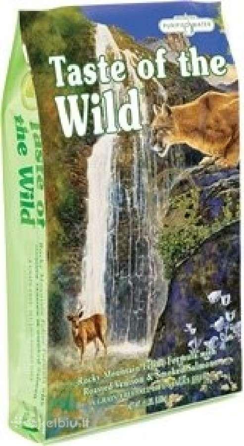 Taste of the wild begrūdis maistas katėms