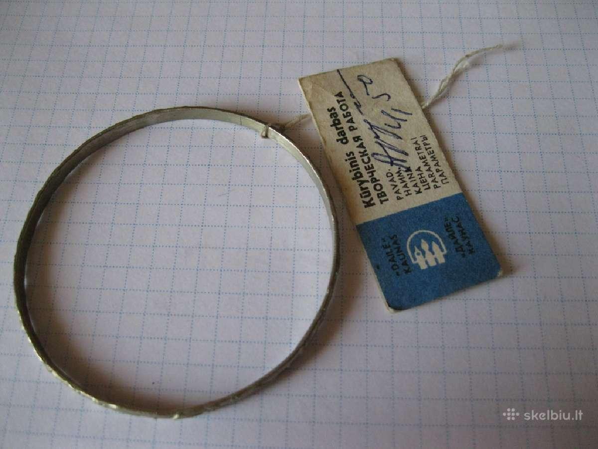 Apyranke...zr. foto...= 15,- ...sunkus metalo...