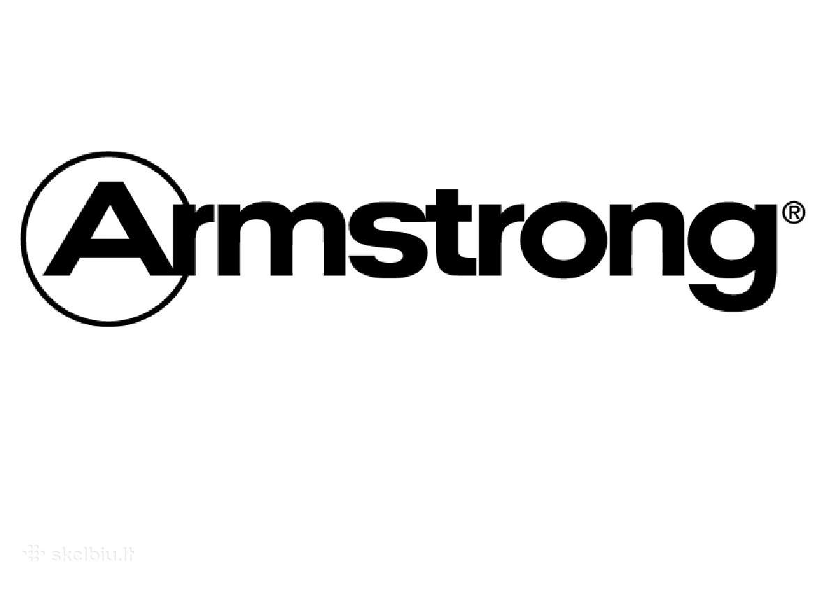 Pakabinamos lubos Armstrong.