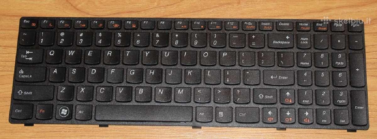Klaviatūra lenovo g585 g585a z585 z585a