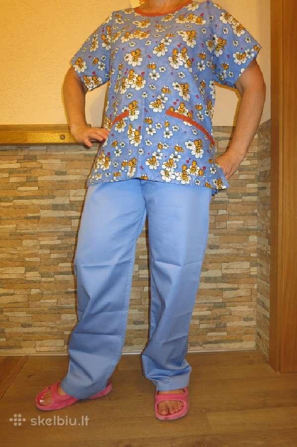 Medicininės pižamos ir med. kepurės