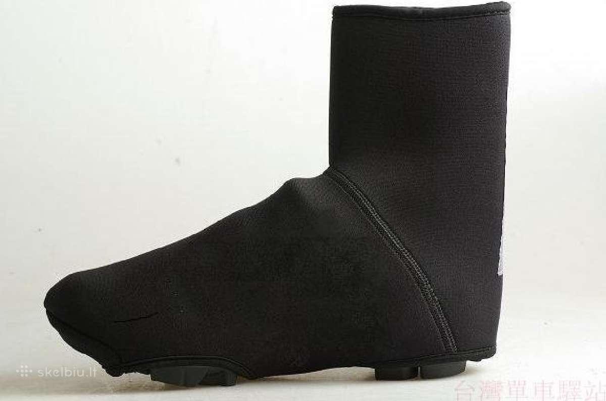 Dviratininko batų apsauga antbačiai apranga