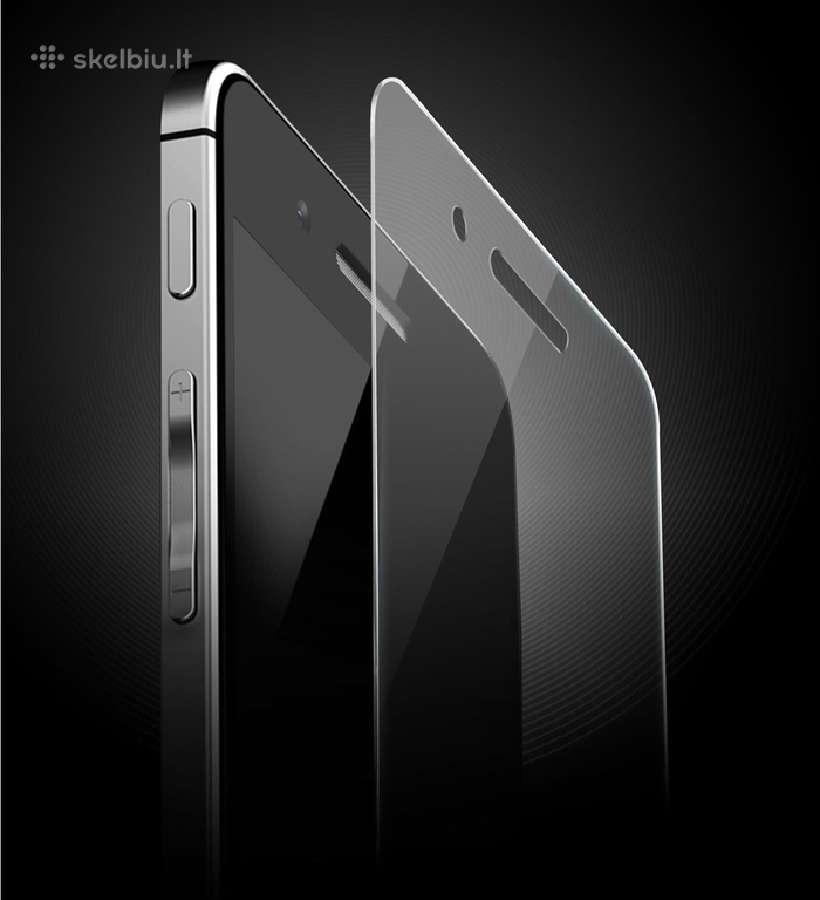iPhone 5 grūdinto stiklo apsauga. ekrano apsauga
