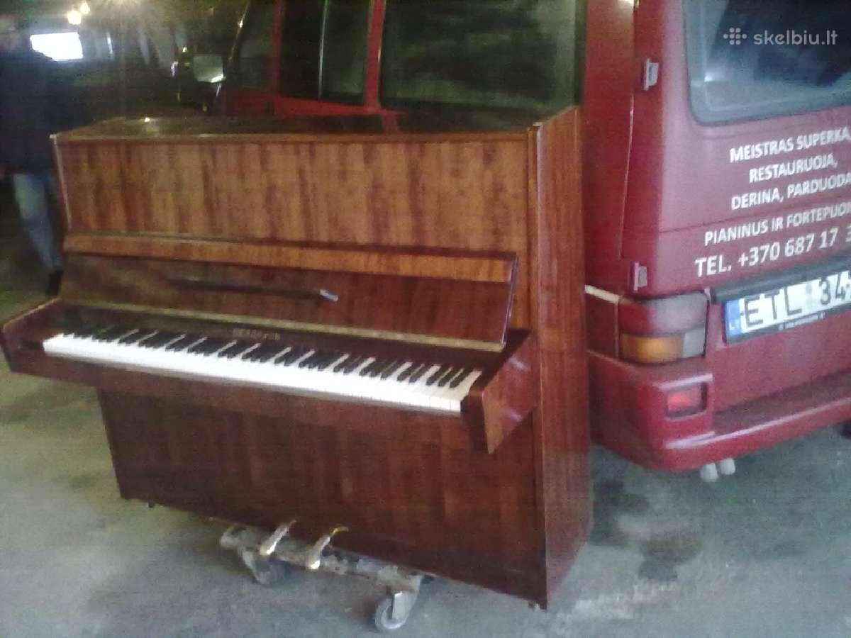 Parduodu pianiną Belarus 88.kl.3.ped.