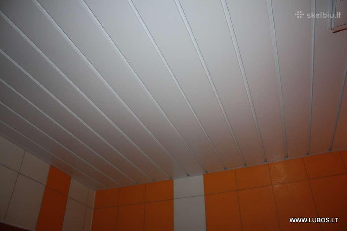 Aliuminės juostinės lubos