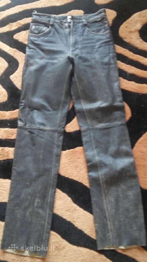 Naujos odines kelnes.juosmuo 78cm,ilgis 115 cm
