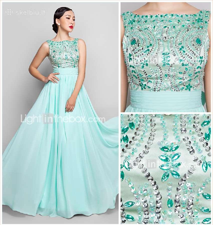 Nauja prabangi vakarinė suknelė