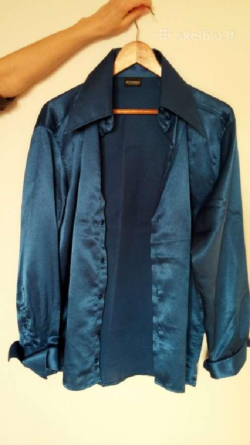 Šilkiniai vintažiniai itališki marškiniai