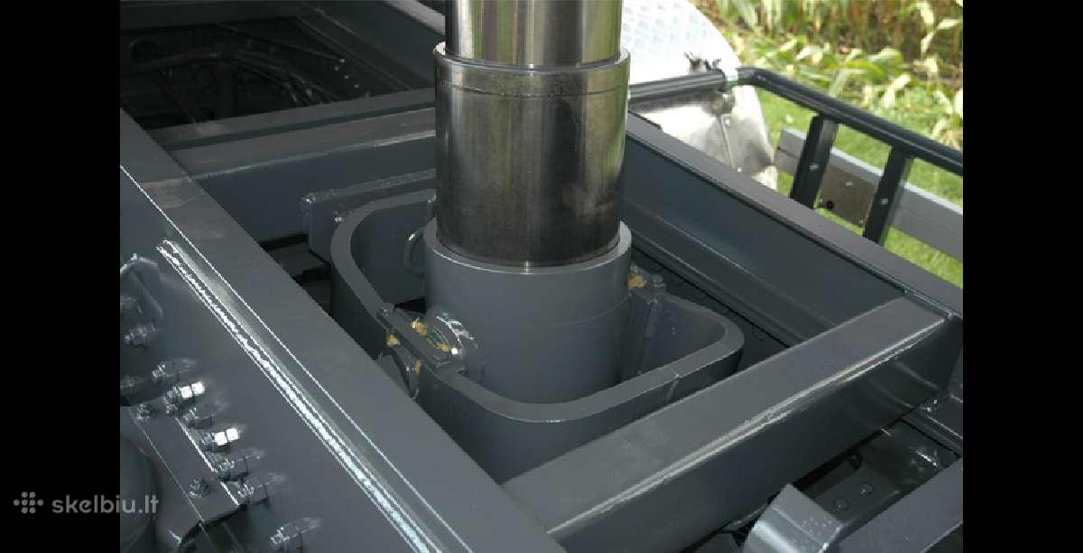 Teleskopiniai cilindrai savivartėms priekaboms