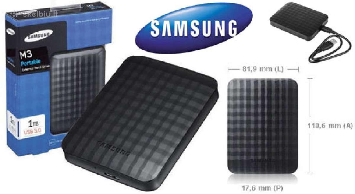 Samsung M3 2.5 500gb 1tb 2tb 4tb Usb isorinis HDD