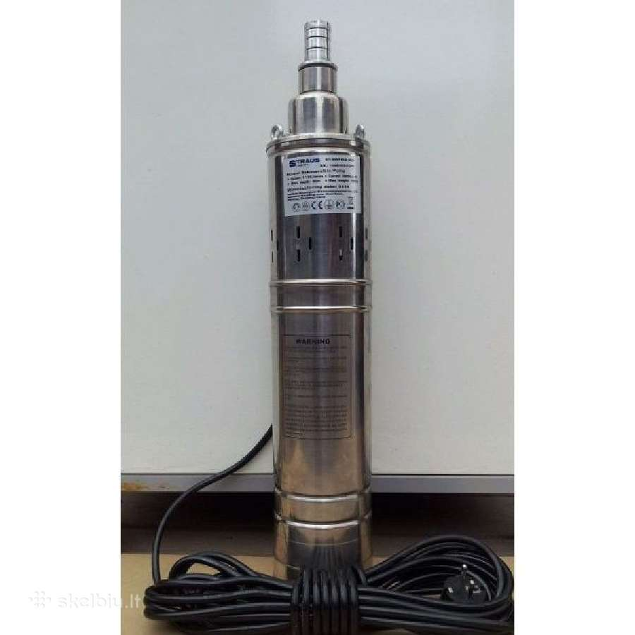Giluminis vandens siurblys 950w Garantija
