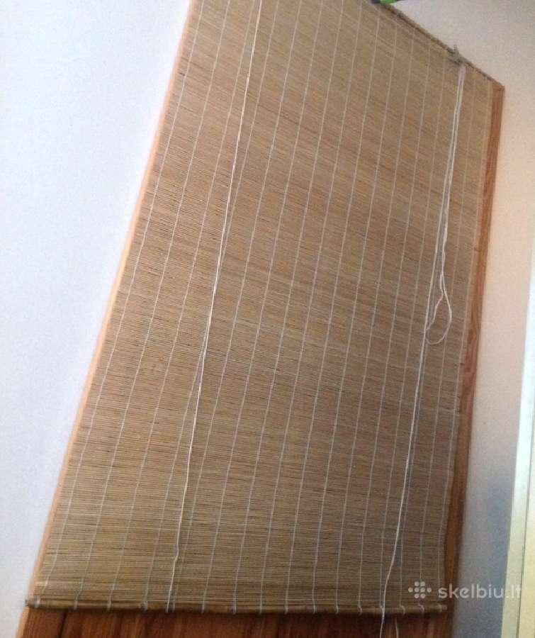 Bambukinė žaliuzė viena