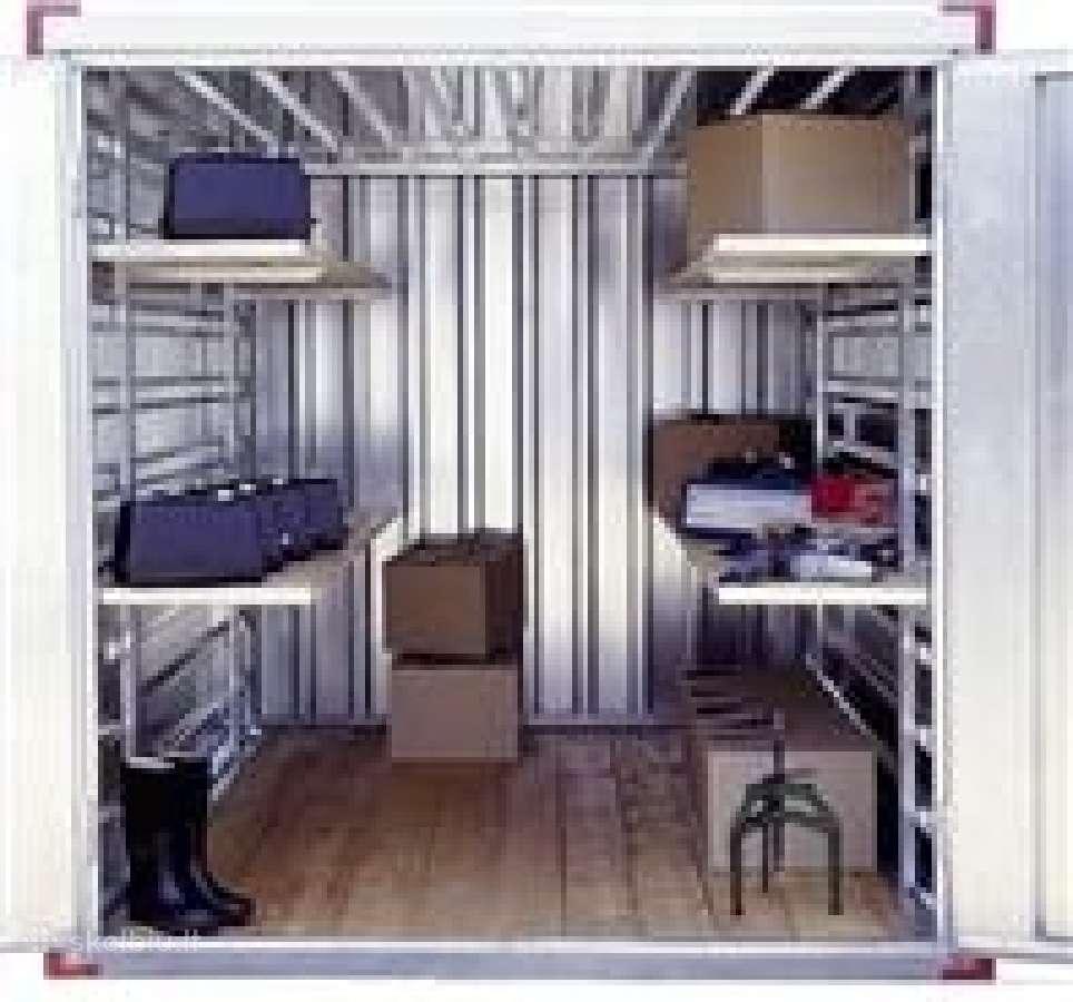 Metaliniai konteineriai-sandeliai(cinkuoti).