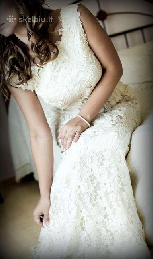 Skubiai parduodama nepakartojama vestuvinė suknelė
