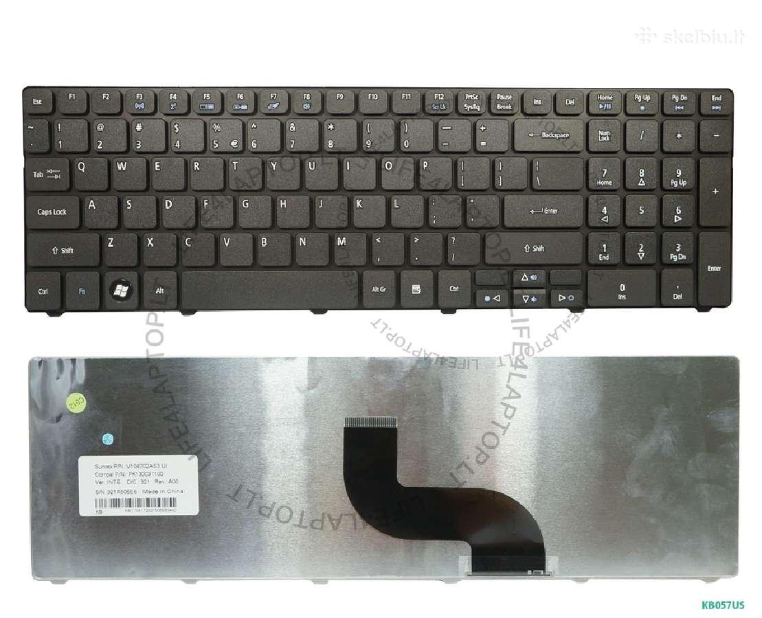 Naujos Acer klaviatūros