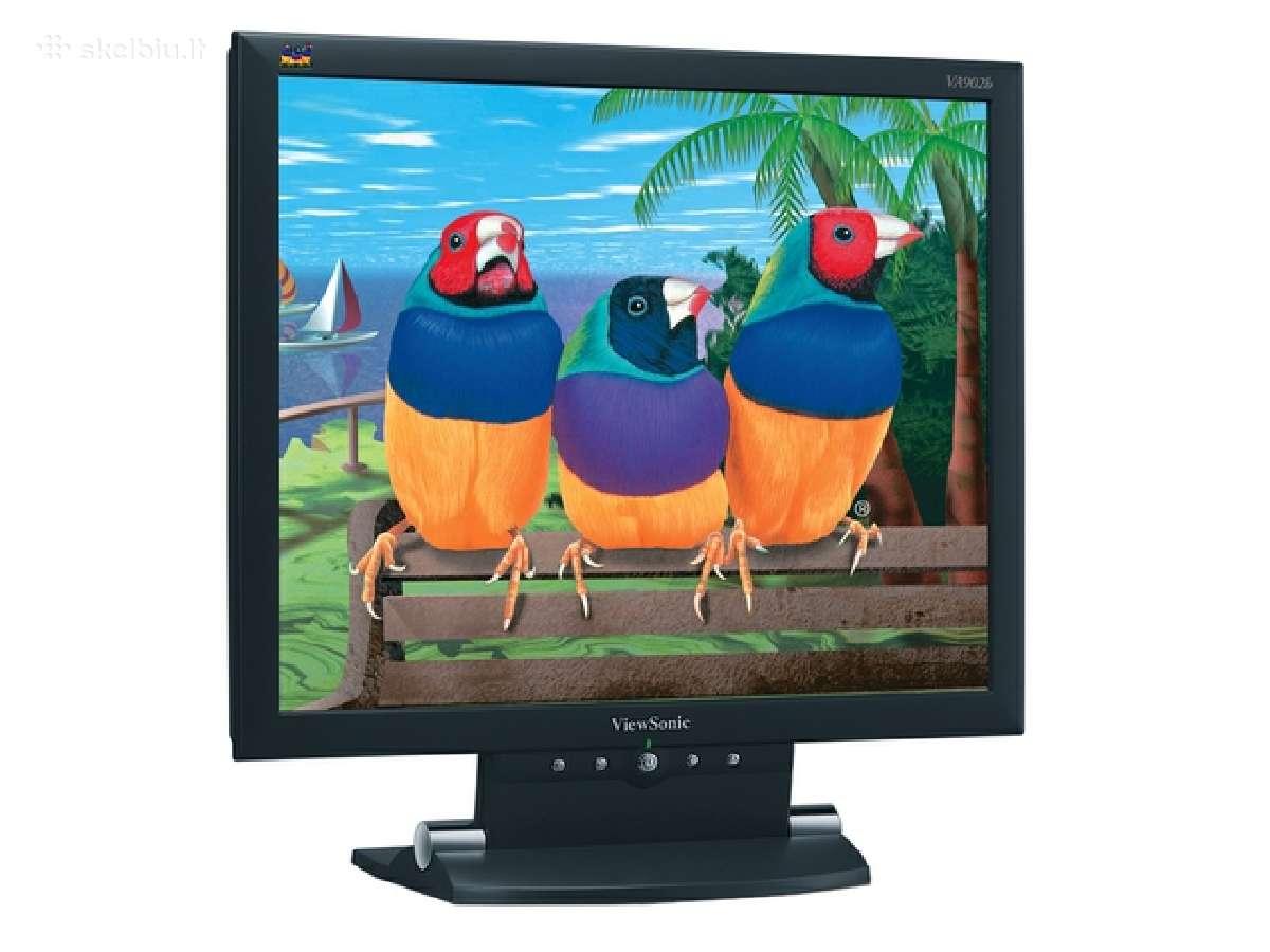 "Geras viesonic va902 19"" LCD 85hz 1200x1000 25eur"