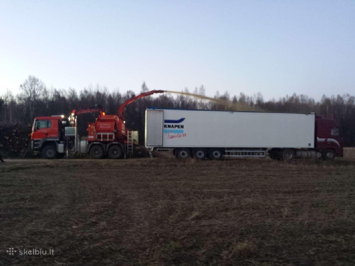 Superkame mediena, krumus, Biokurui, visoje lietuv