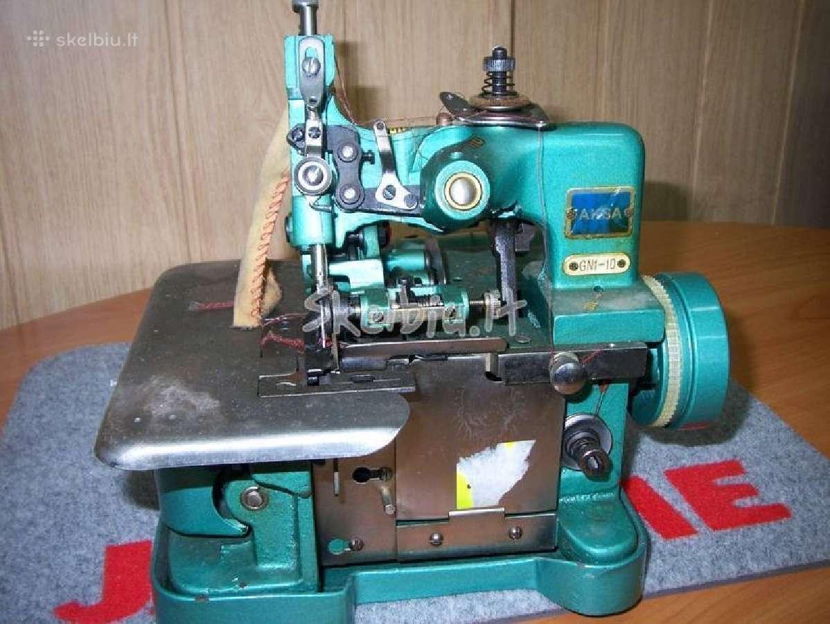 Siuvimo mašinų ir overlokų remontas Raseiniuose
