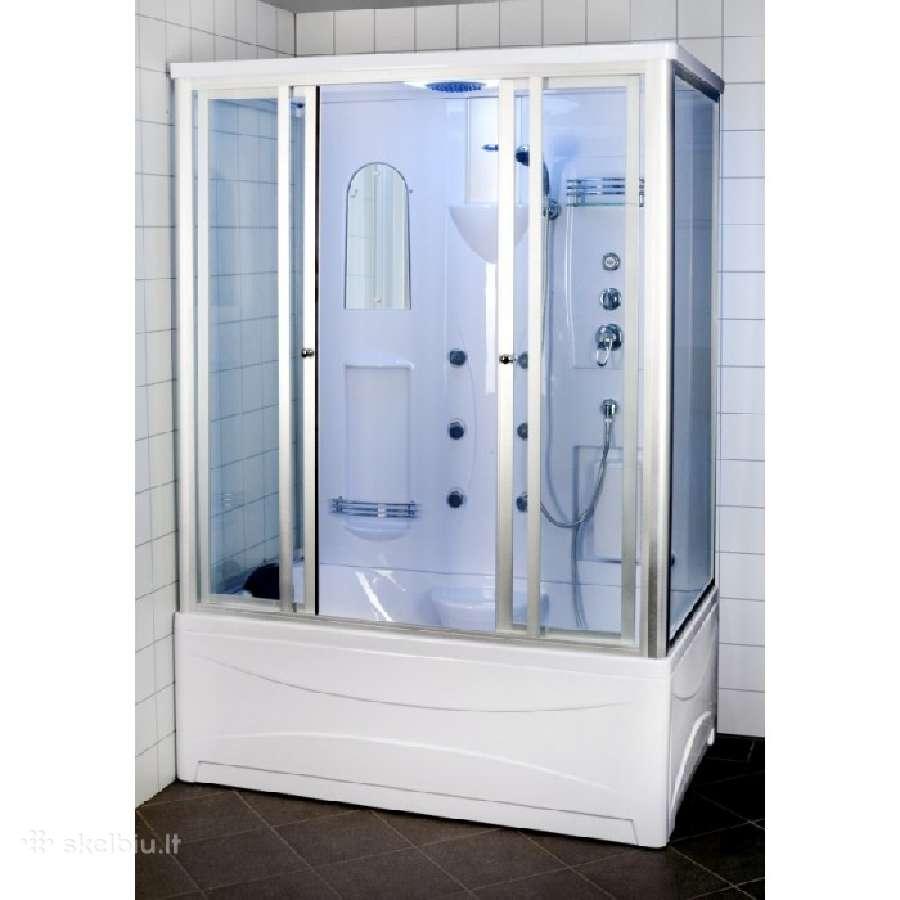 Naujos masažinės dušo kabinos maziausia kaina