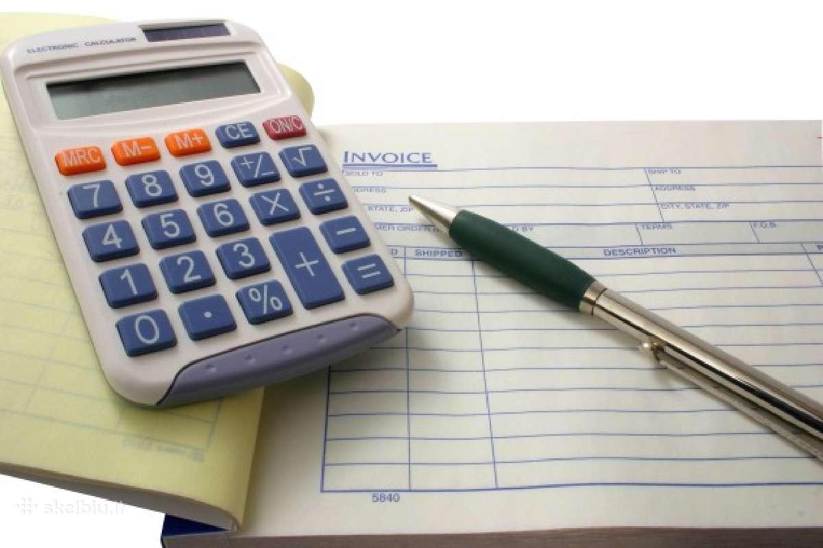 Vyr. buhalterio - finansininko paslaugos