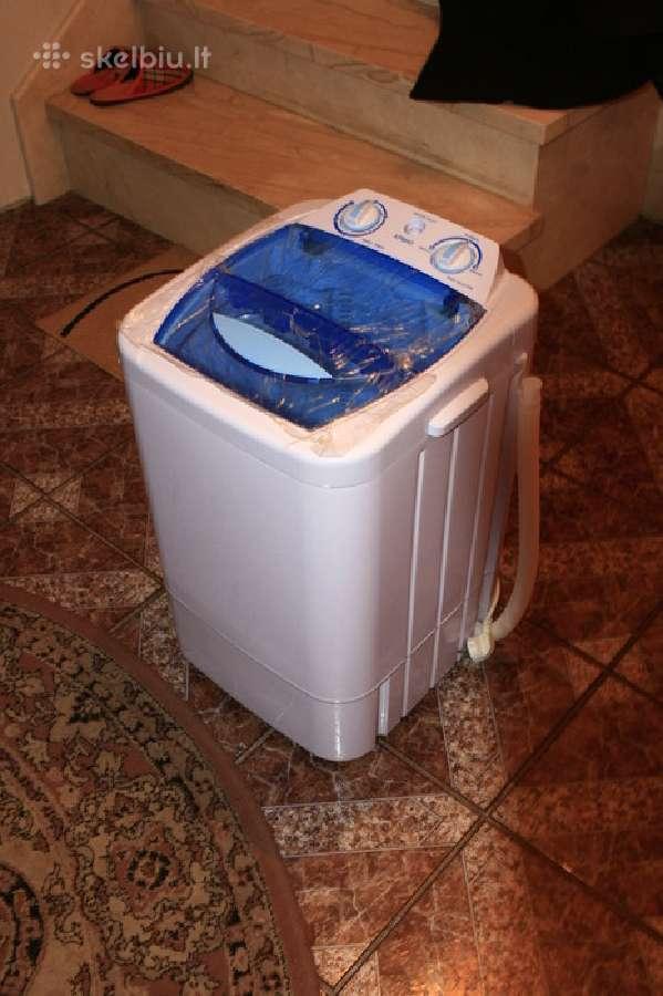 Parduodu nauja mini skalbimo mašina, neautomatine