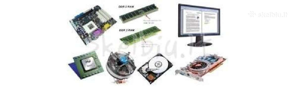 Superkam RAM, HDD, Cpu, Vga ir t.t. (viska)