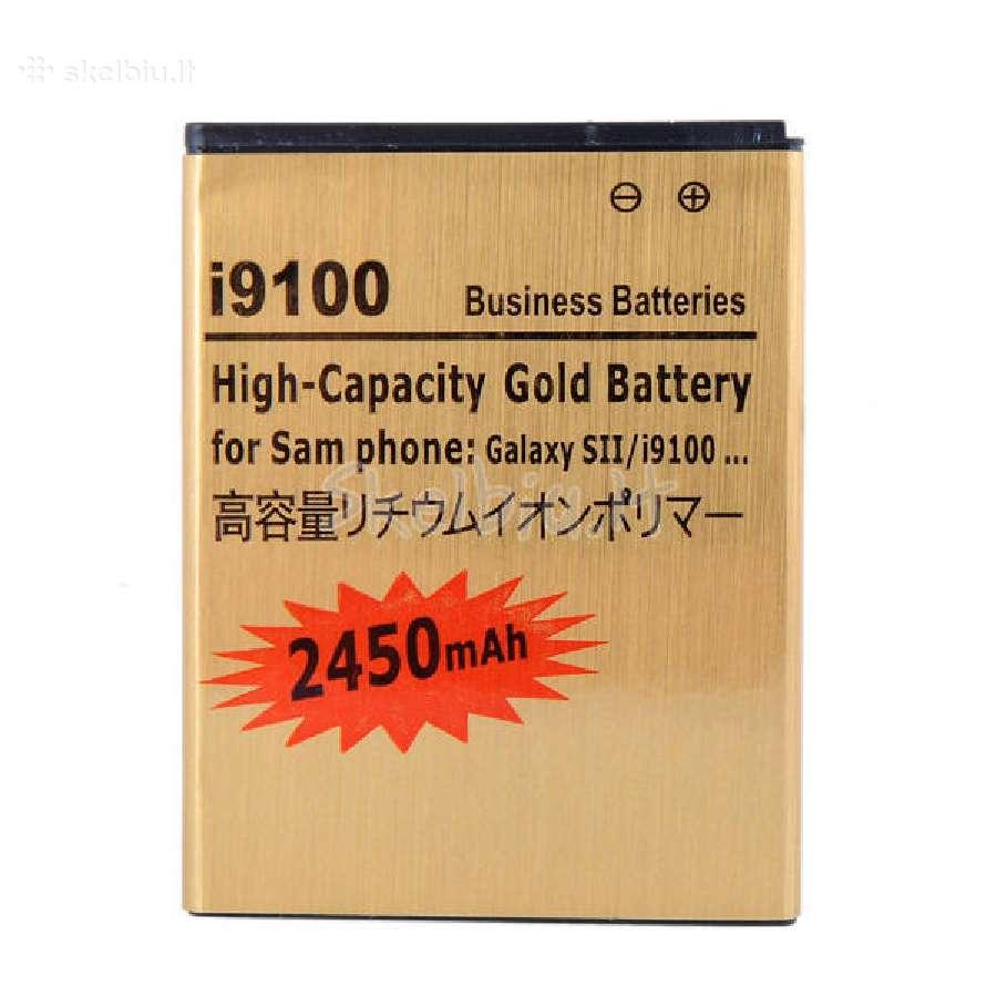 Padidintos talpos telefonų baterijos