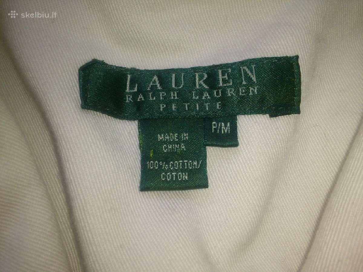 Ralph Lauren pieno baltumo svarkas