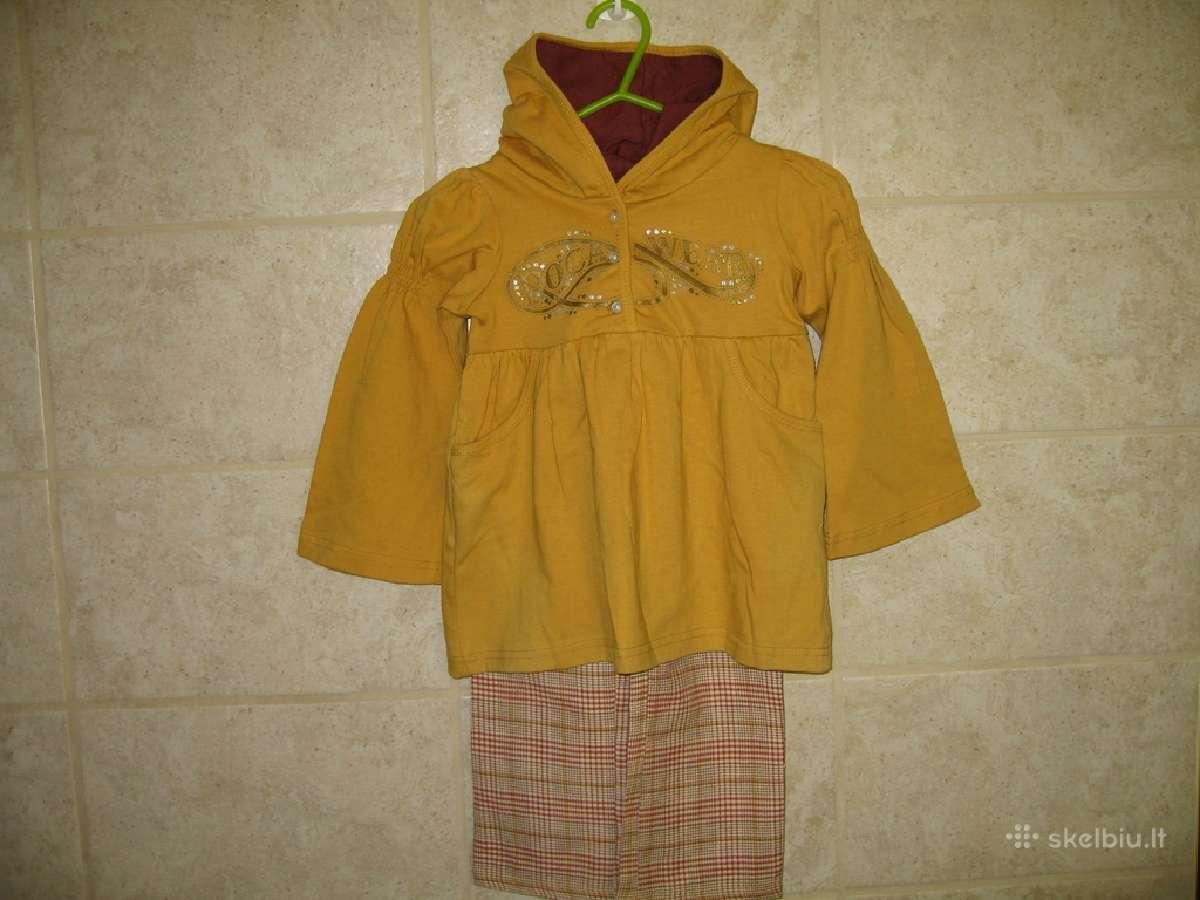 Dviejų dalių kostiumėlis mergaitei