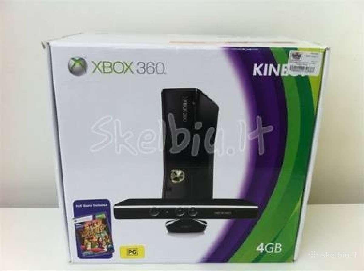 Xbox 360 slim 250gb kinect su rgh jtag
