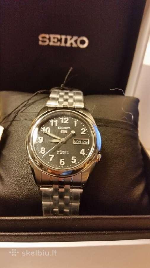 Seiko. Naujas laikrodis. Kaina 150 Eur