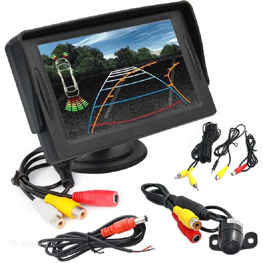 Galinio vaizdo parkavimosi kamera ir LCD 38eurai