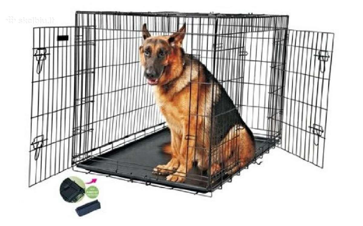 Nauji Metaliniai narvai šunims