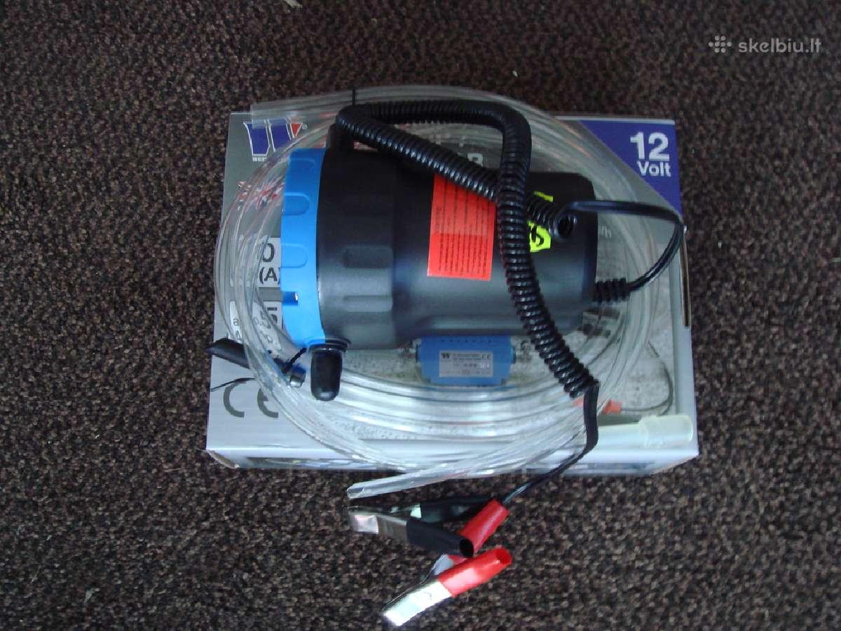 Elektrinė pompa tepalui, dyzelinui, mazutui ir kt.