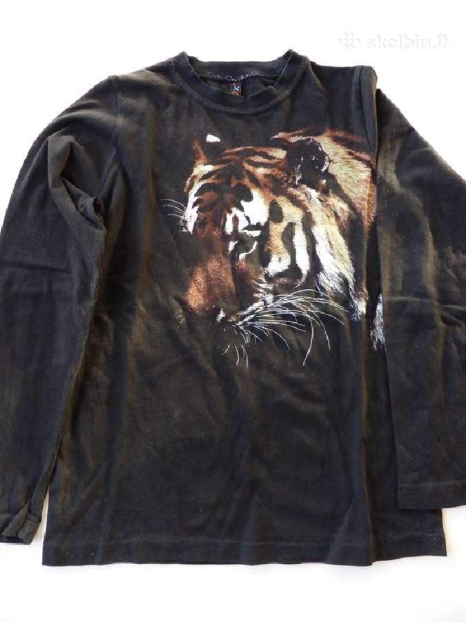Oxox firmos ilgarankoviai trikotažiniai marškiniai