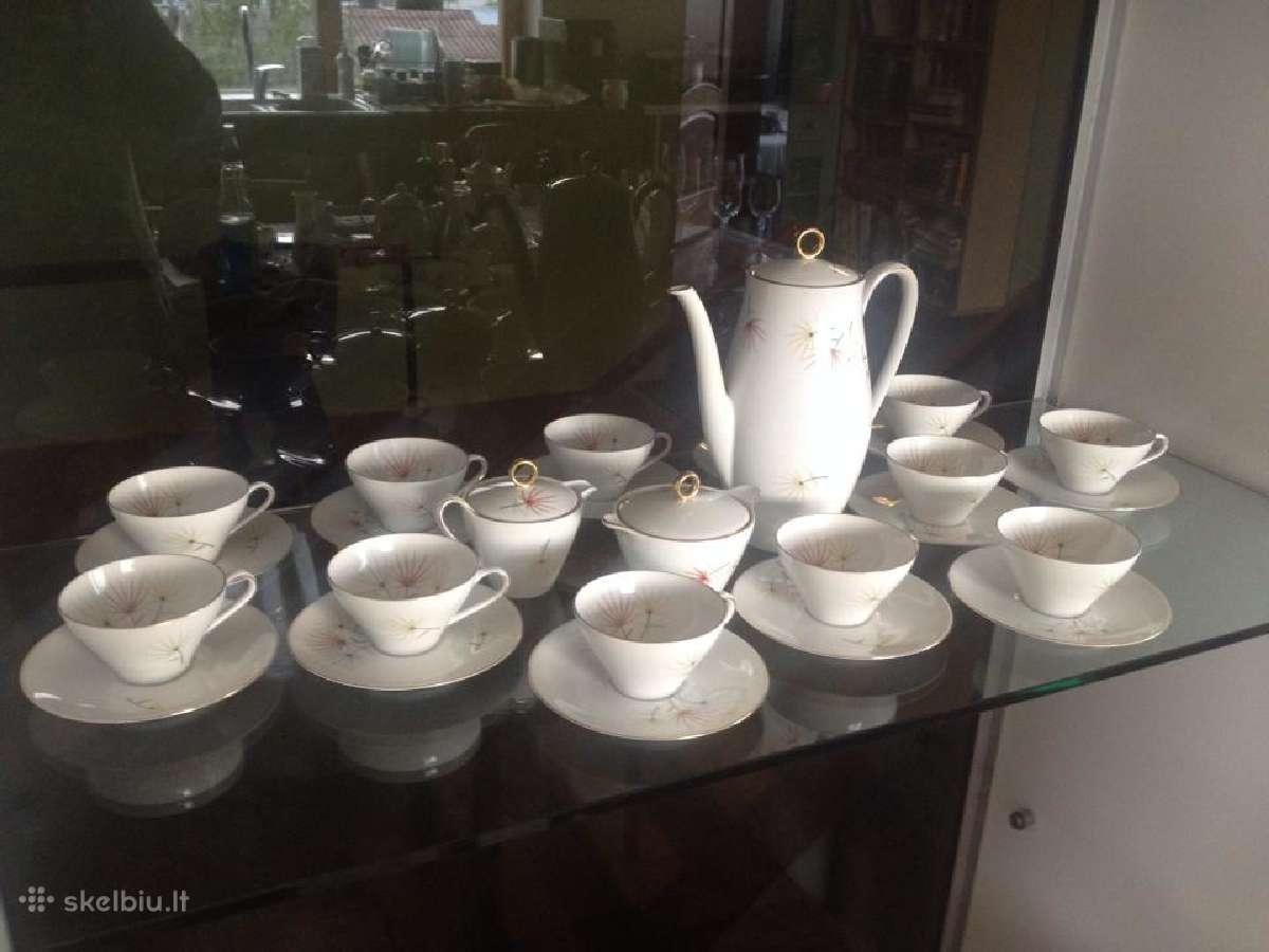 Vokiškas kavos servizas, Jiesios maža vazelė
