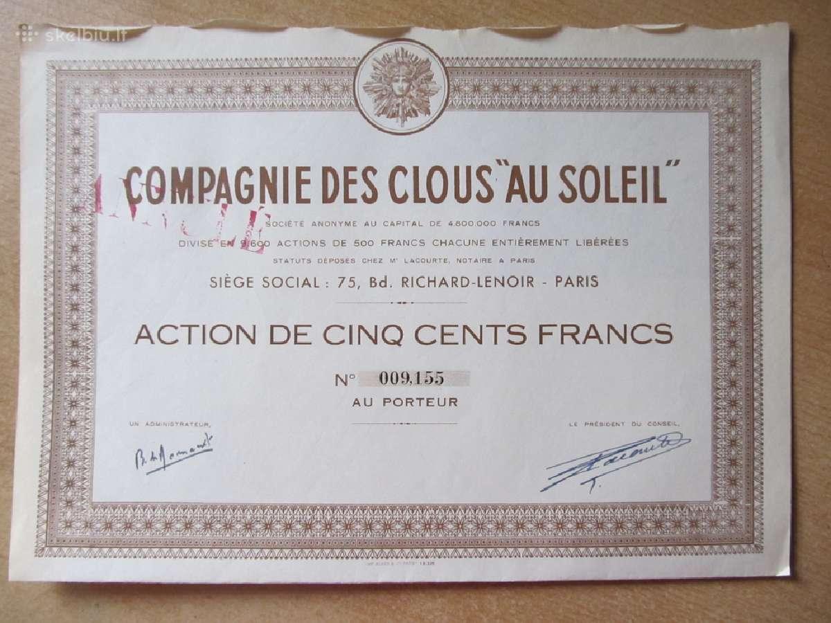 Akcija , Prancūzija , Tarpukaris