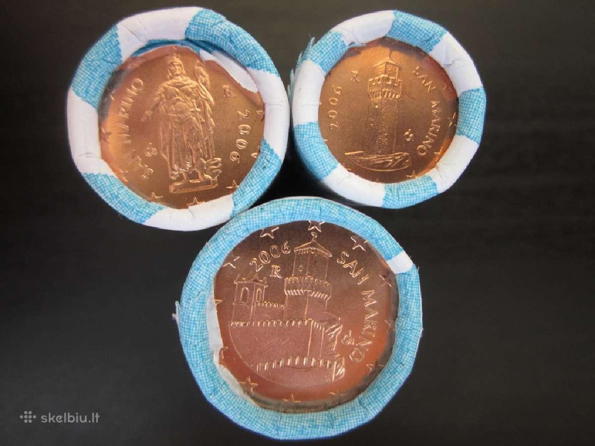 San Marinas 2006 1-2-5 centai
