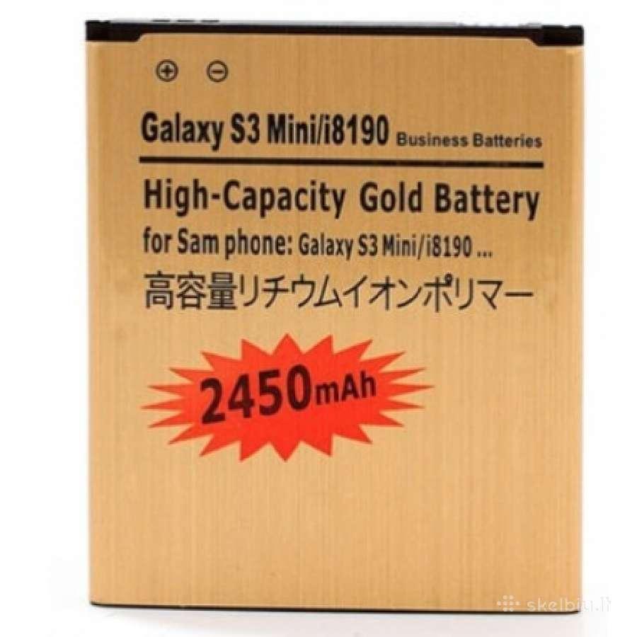 Samsung Galaxy S3 mini padidintos talpos baterija