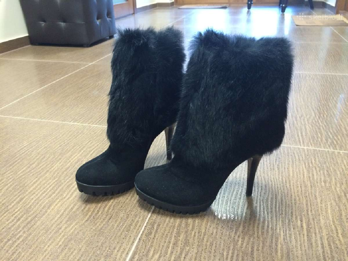 Rudeniniai/žieminiai elegantiški ir puošnūs batai
