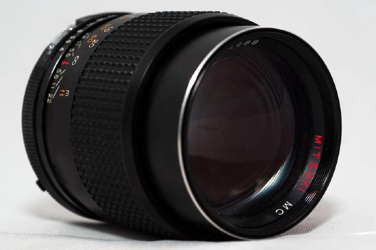 Objektyvas Mitsuki 70-150mm Pentax Pk - Canon EOS