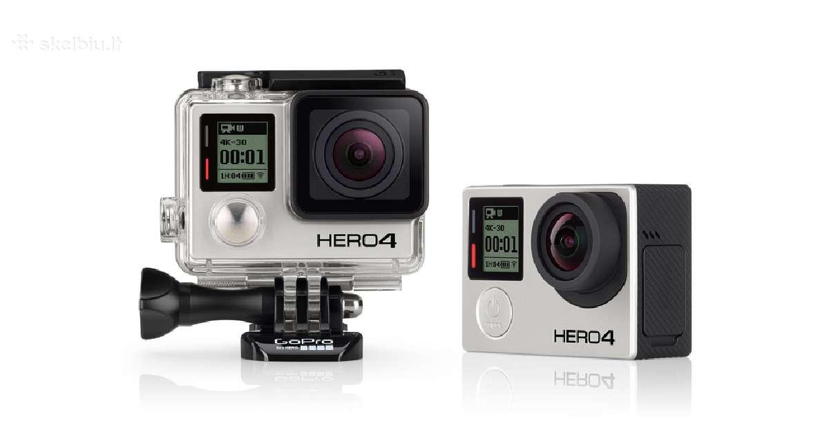 Gopro Hero 4, Hero 5 kamera nauja garantija