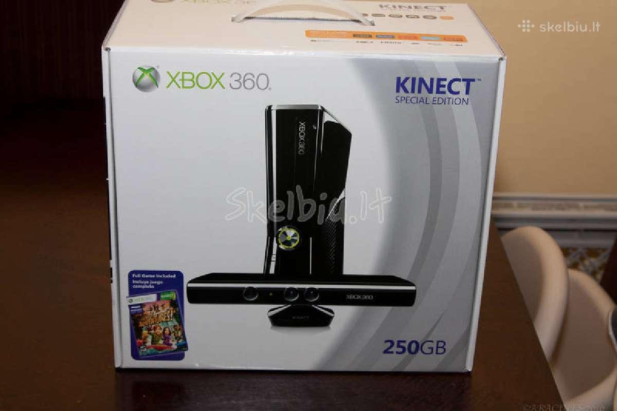 Xbox 360 slim 250gb + kinect + rgh/jtag + lt 3.0
