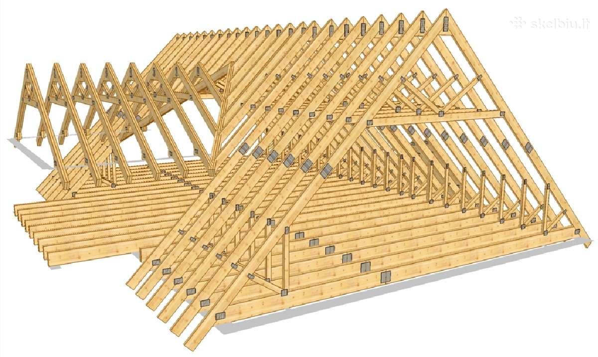 Делаем крышу двускатную своими руками