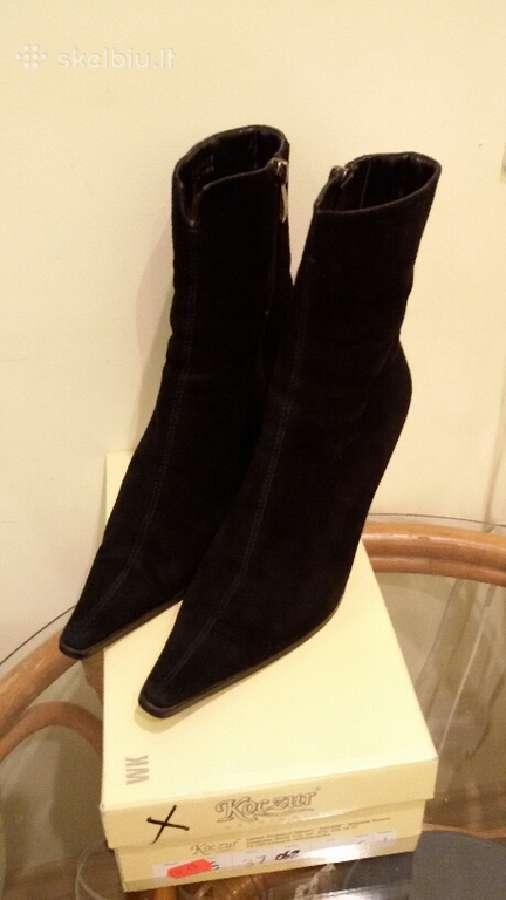 Naturalios odos zomšiniai batai