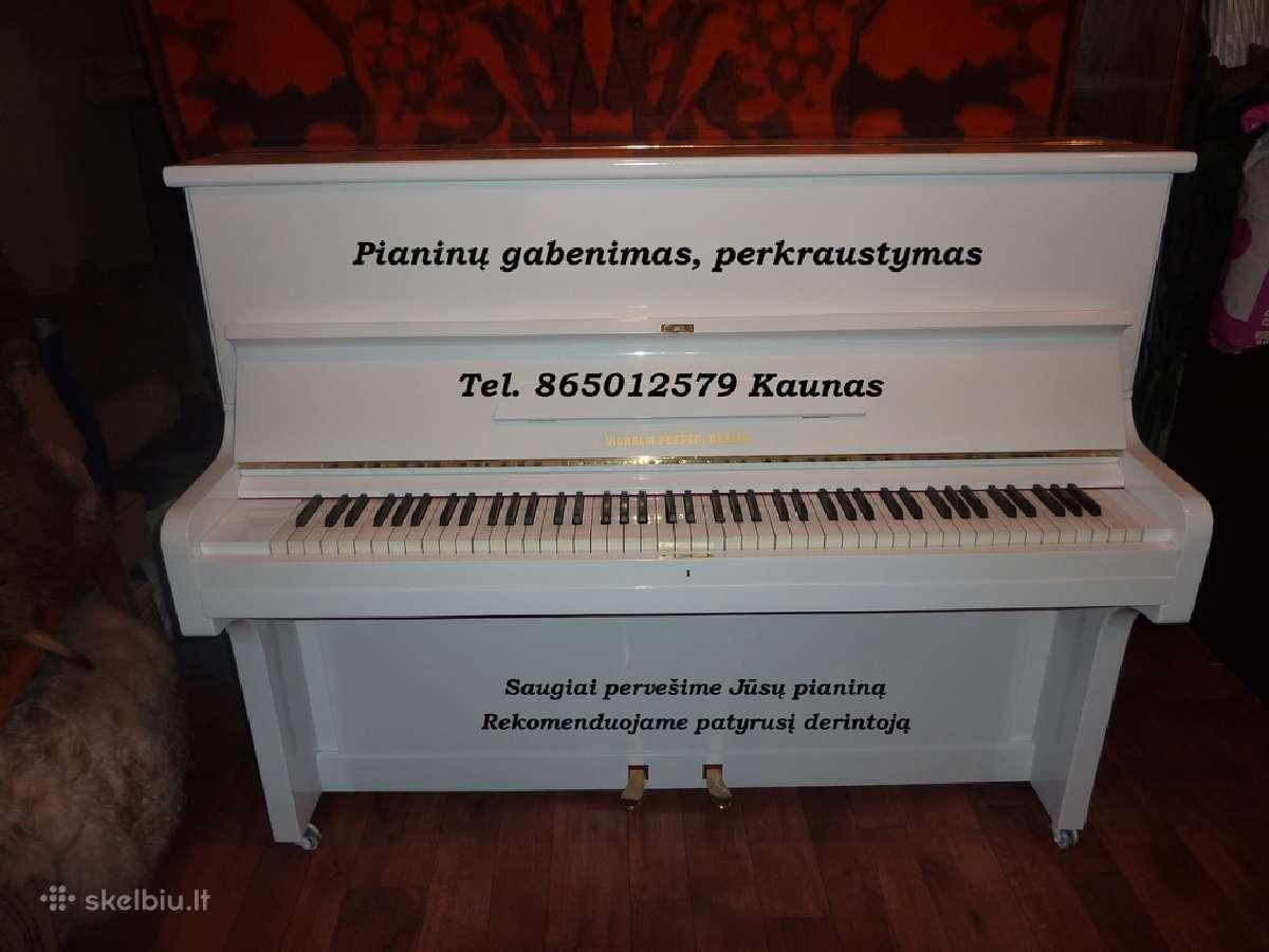 Pianinas, pianinai ir jų transportavimas